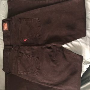 Levi's Black 512 Perfectly Slimming Boot Cut 8M